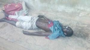 How SARS Operatives Beat A Photographer To Death In Ibadan.... Graphic Photos